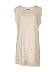 Madson Discount Sleeveless T Shirts Beige