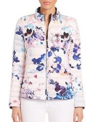 Dawn Levy Sophie Reversible Short Puffer Jacket Multi