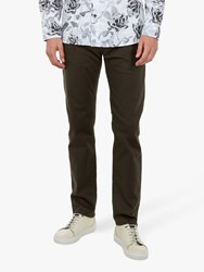 Ted Baker Wedmin Straight Fit Jeans Khaki