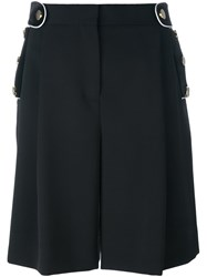 Givenchy Wide Leg Shorts Black