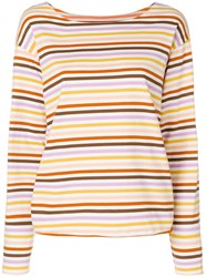 Mih Jeans Simple Mariniere Sweatshirt Multicolour