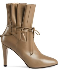 Gucci Gathered Bow Detail Ankle Boots 60