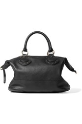 See By Chloe Janis Textured Leather Tote Black