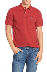 Men's Psycho Bunny 'Cayman' Modern Fit Polo Pinot