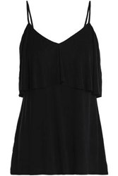 Tart Collections Layered Washed Jersey Camisole Black