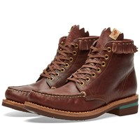 Visvim Blackfoot Boot Folk Brown