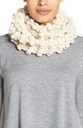 Women's Eileen Fisher Organic Cotton Infinity Scarf White Soft White