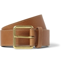 Mulberry Brown 3.5Cm Full Grain Leather Belt