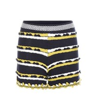 Barrie Cashmere Shorts Blue