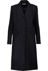 J.W.Anderson Wool Blend Twill Trench Coat Midnight Blue