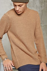 Forever 21 Chunky Ribbed Knit Sweater