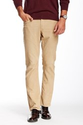 Bonobos French Corders Straight Pant 30 34' Inseam Beige
