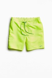 Nike Nylon Volley Short Yellow