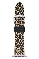 Kate Spade New York Apple Watch Strap 38Mm Black Leopard
