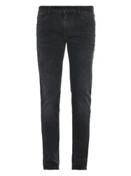Dolce And Gabbana Gold Fit Slim Leg Jeans Black