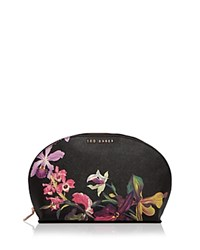 Ted Baker Fazser Dome Large Cosmetic Case Black