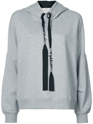 Dorothee Schumacher Loose Fitted Hoodie Grey