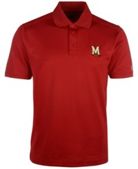 Under Armour Men's Maryland Terrapins Performance Polo Shirt Red