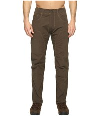 Kuhl The Outsider Dark Roast Men's Casual Pants Brown
