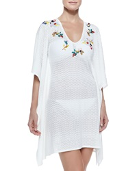 Missoni Mare Zigzag Pattern Embroidered Coverup