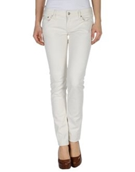 Department 5 Casual Pants Ivory