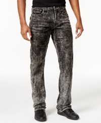True Religion Men's Ricky Acid Wash Jeans Bocm Mineral