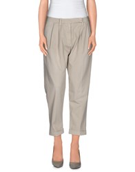 Met And Friends Trousers 3 4 Length Trousers Women Grey