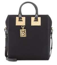 Sophie Hulme Cromwell Mini Canvas Tote Black