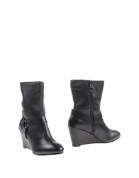 Dknyc Ankle Boots Black