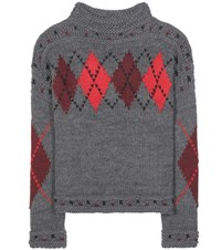 Isabel Marant Wool And Alpaca Sweater Grey