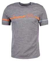 Icebreaker Road To River Sports Shirt Gritstone Heather Dark Blue