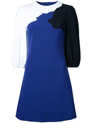 Vivetta Colour Block Dress Blue