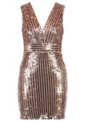 Tfnc Olivia Cocktail Dress Party Dress Rose Gold