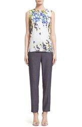 Women's St. John Collection 'Emma' Crop Suit Pants