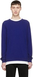 Ports 1961 Blue Cashmere Sweater