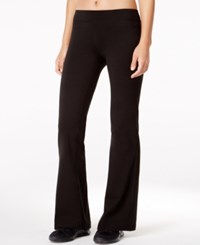Ideology Rapidry Bootcut Yoga Pants Only At Macy's Black