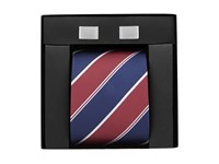 Skopes Tie And Cufflinks Red