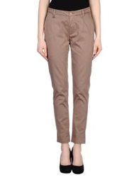 Manila Grace Denim Casual Pants Khaki