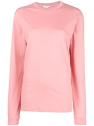 Alyx Loose Fitted Knitted Top Pink And Purple