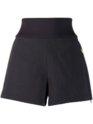 Nike High Waisted Track Shorts Black
