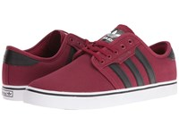 Adidas Seeley Cardinal Black Cardinal Men's Skate Shoes Red
