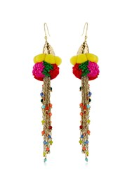 Rosantica Rosita Pompom Earrings
