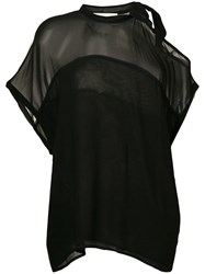 8Pm Pussybow Blouse Black