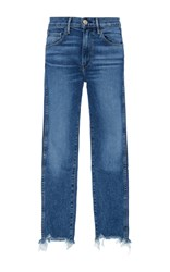 3X1 W3 Straight Cropped Jeans Light Wash