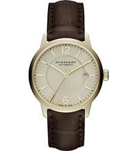 Burberry Bu10302 Classic Round Leather Watch Cream