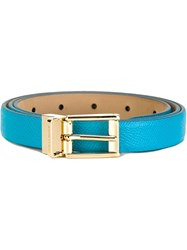 Dolce And Gabbana Classic Belt Blue