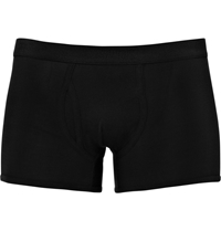 Sunspel Cotton Jersey Boxer Briefs Black