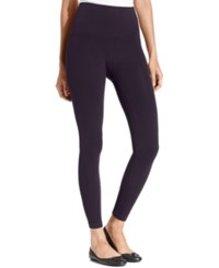 Star Power By Spanx Wide Waistband Tout And About Shaping Leggings Amethyst Night