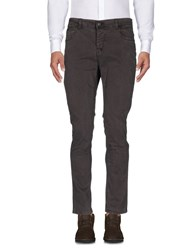 Yes Zee By Essenza Casual Pants Dark Brown