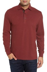 Thaddeus Men's Perry Long Sleeve Polo